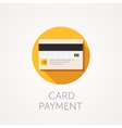 Credit Cards Icon Reverse side of the bank vector image
