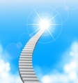 The stairway to heaven vector image vector image