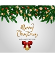 Merry Christmas and Happy New Year Concept vector image