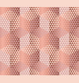 pale color geometry hexagon seamless fabric sample vector image vector image