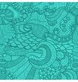Hand drawn grass seamless pattern vector image