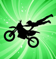 motocross vector image vector image