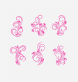 Flourish ornament vector image