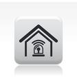 home alarm icon vector image