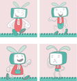 Cartoon Characters TVTOON 1 vector image