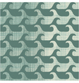 Repeating wave pattern background vector image vector image
