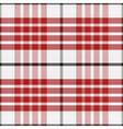seamless red pattern Scottish tartan vector image