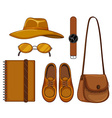 Accessory vector image vector image