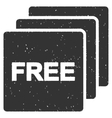 Free Icon Rubber Stamp vector image