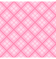 Pink Tartan Diamond Background vector image