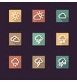 App icon weather vector image