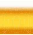 Beer foam background vector image