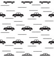 car cute baby scandinavian seamless pattern vector image