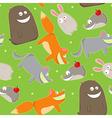 cute wildlife vector image