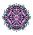 Ornament beautiful background with mandala vector image