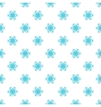 Snowflake pattern cartoon style vector image