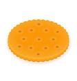 biscuit 07 vector image vector image