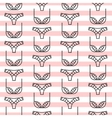 Fashion sexy lingerie seamless pattern vector image