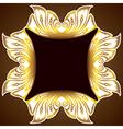 golden design classic background vector image