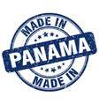 made in panama vector image