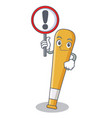 with sign baseball bat character cartoon vector image