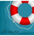 Red buoy vector image vector image