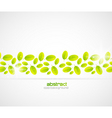 ecology template vector image vector image