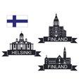 Finland vector image
