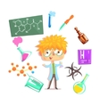 Boy Chemist Kids Future Dream Professional vector image vector image