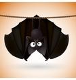 bat funny - Halloween vector image