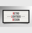 creative of glowing cinema vector image