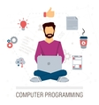 working programmer vector image