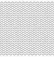 black fine wavy line pattern black and white vector image vector image