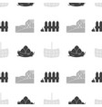 farm market seamless pattern vector image