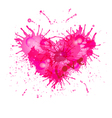Heart - art object vector image