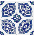 Traditional arabic ornament seamless vector image vector image
