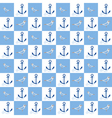 Nautical Seamless Pattern vector image