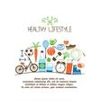 healthy lifestyles vector image