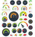 Gauges set vector
