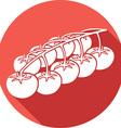 Cherry Tomatoes Icon vector image