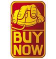 buy now design vector image vector image