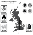 United Kingdom vector image vector image