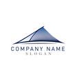bridge logotype vector image