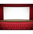 cinema theatre vector image