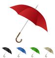 umbrella vector image