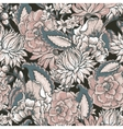 Vintage floral baroque seamless pattern vector image