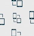 Synchronization sign icon communicators sync vector image