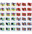 Central African Republic Transnistria Bahamas vector image