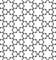 Abstract monochrome arabic seamless pattern with vector image