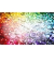 Pixel background colors vector image